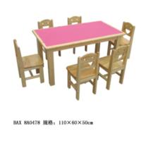 防火板六人桌8-80-8A0478