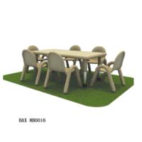 六人长方桌椅,9-8-8B0016
