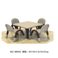 全塑料豪华型幼儿桌椅,9-1-8B0002