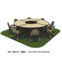 圆形桌椅,9-7-8B0013