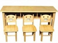 竹木三人桌